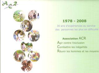 Les 30 ans ACR