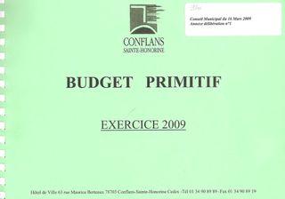 Page budget Primitif 2009 001