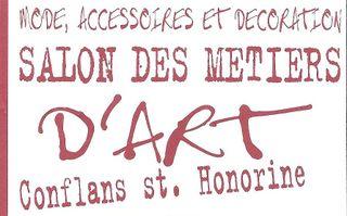 ATELIER D'ART SALON DES METIERS D'ART