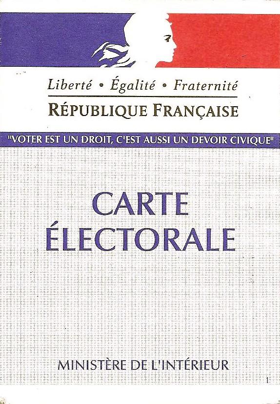 CARTE D'ELECTEUR