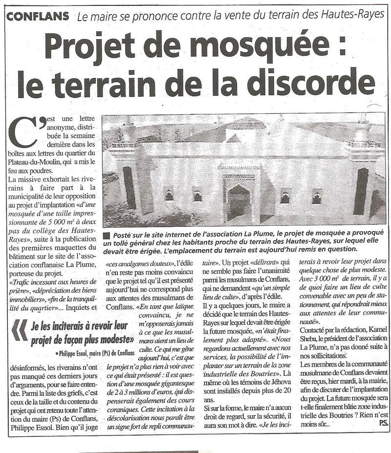 MOSQUEE GAZETTE 26 05 2010  POUR BLOG