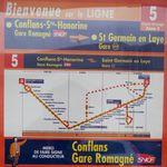 Ligne bus n°5 Conflans-Achères