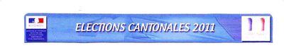 Cantonales 2011 logo ministere de l'intérieur