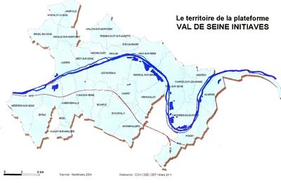 LE TERRITOIRE DE VAL DE SEINE INITIATIVES