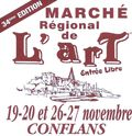 MARCHE DE L'ART 19 ET 26 11 2011