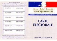 CARTE D'ELECTEUR PHOTO