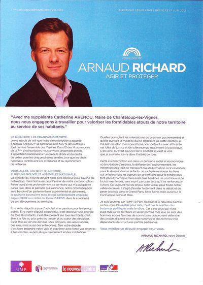 PROGRAMME ARNAUD RICHARD PAGE 1