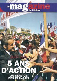 2007-2012   5 ANS AU SERVICE DES FRANCAIS  BROCHURE