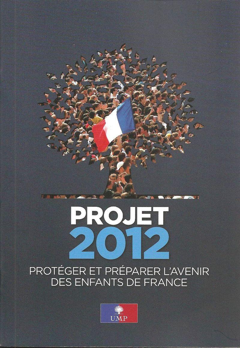 PROJET 2012 UMP