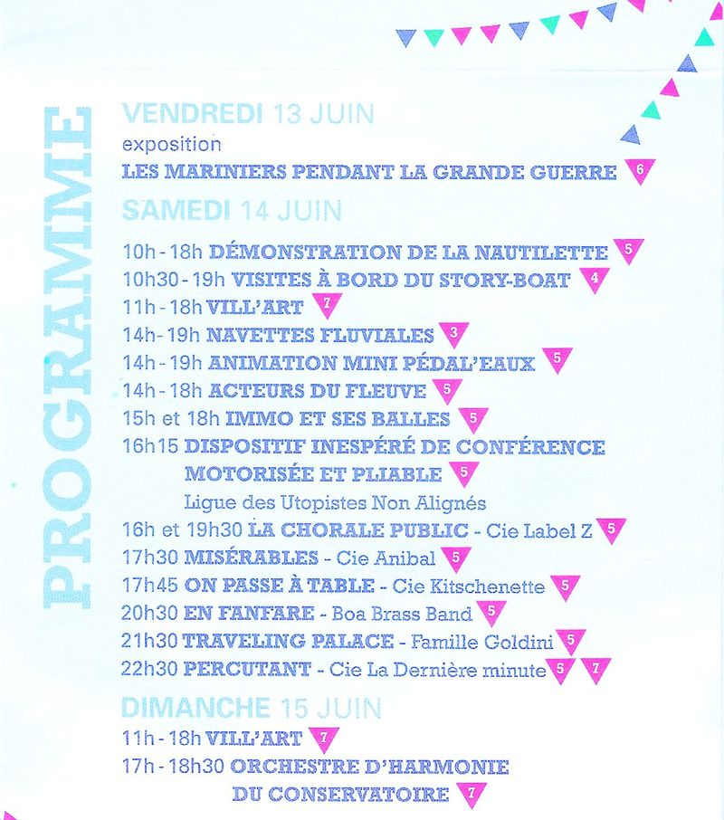 Pardon de la batellerie 2014 programme page 2