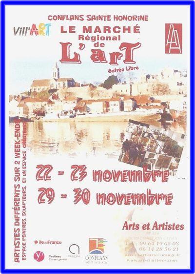 Affiche Marché Art 11 2014