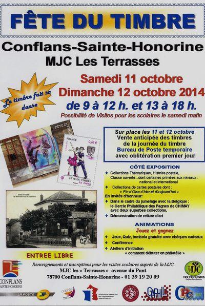 Fête timbre MJC  11 Oct 2014 001